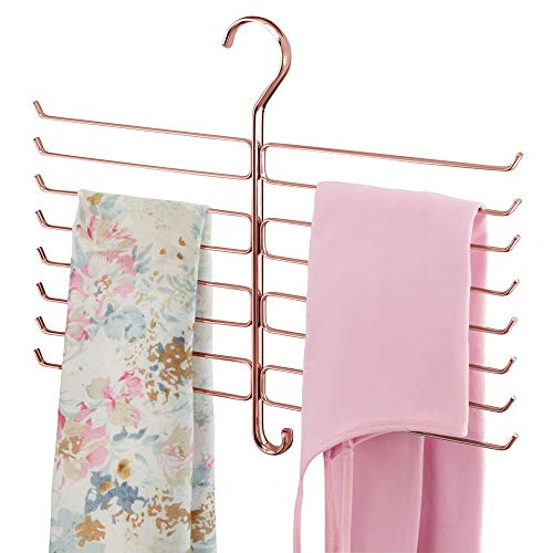 mDesign kast-organizer voor accessoires, stropdassen, sjaals, onderhemden, handtassen Einzel roségoud