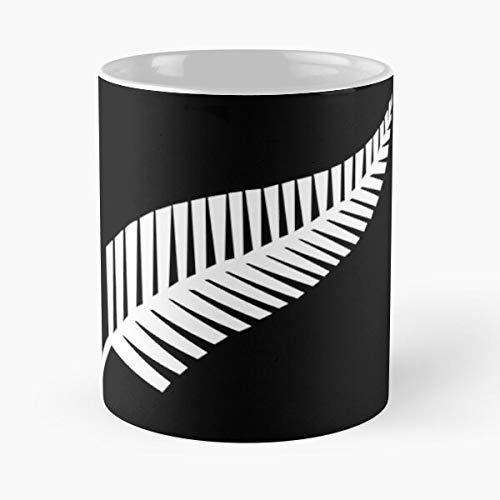 Lapuan Kankurit NZ New AB Union Blacks Kiwi Rugby All Zealand Kiwis La Mejor Taza de café de cerámica Blanca de 11 oz