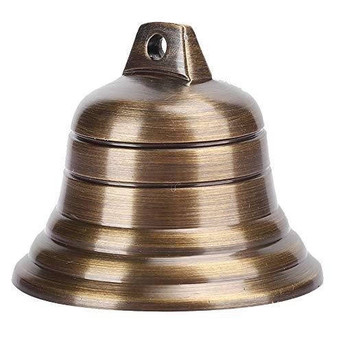 Vintage Jingle Bells hängende Glocke 2in kleine Kupferglocken Craft Bells Buddhismus Anhänger Ornamente Dekoration für Wandtür Ornamente