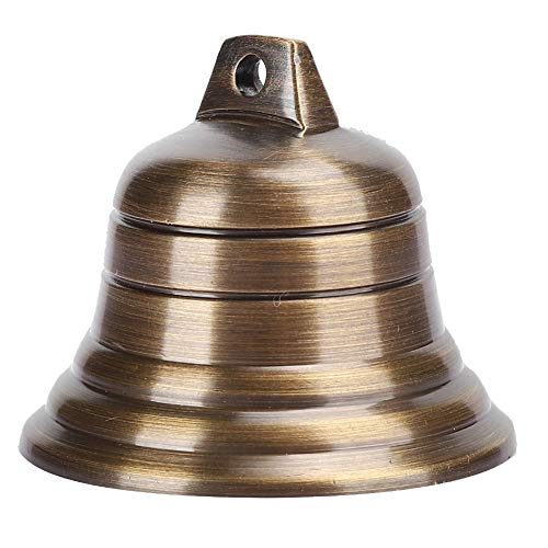 SUCIE Campanas de Cobre de 2 Pulgadas, pequeña Campana de Budismo Artesanal, para timbres de Puerta, Campana de Viento