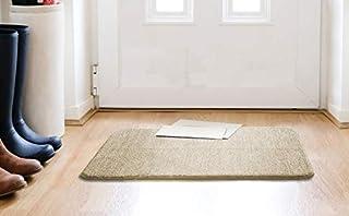 Cambik Super Soft Indoor Outdoor Kitchen Living Room Bathmat Non Slip Cotton Door Mat Entrance Rug Mud Snow Absorbent Door...