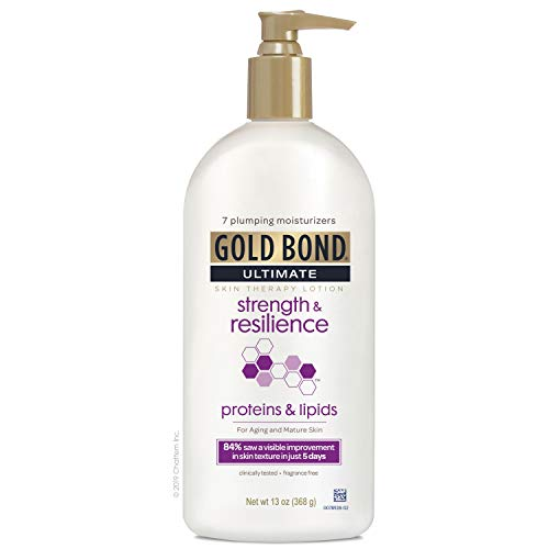 Gold Bond Ultimate Strength & Resilience Skin Therapy Lotion, Fresh, 13 Ounce