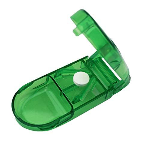 Swiftswan Pillenschneider, Medizinschneider, Medizinteiler, Geteilte Medizinbox, tragbare Medizinbox, tragbare kleine Medizinbox, Medizinbox