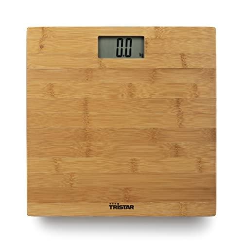 Pèse-personne WG-2432 Tristar, Jusqu'à 180kg max., Habillage élégant en bambou