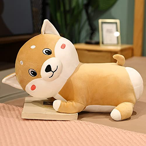 Kawaii Pink Pig Husky Shiba Inu Animal Plush Plush Toy Pillow Anti-Squeeze...