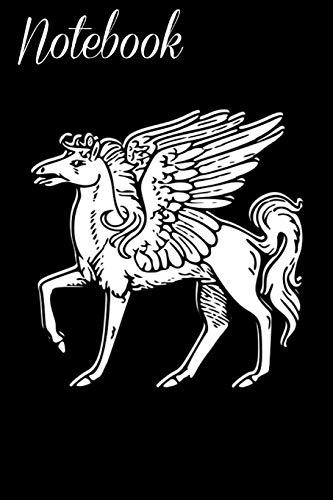 Notebook: Pegasus Greek Mythology Homework Book Notepad Notebook Composition and Journal Gratitude Diary