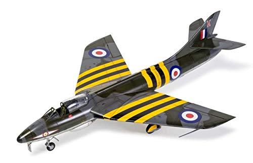 Airfix A09189 1/48 Hawker Hunter F4 Modellbausatz, Sortiert, 1: 48 Scale