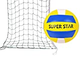 move Volleyballnetz Set Volleyball Ball mit Tasche Sport Volleyball Set Badmintonnetz Tennisnetz