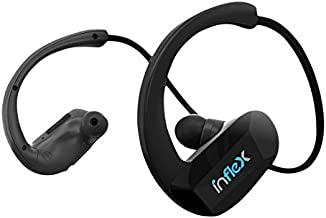 Pyle MP3 Player Bluetooth Headphones - Waterproof Fitness MP3 Headphones for Swimming, Sports, Running, MP3 Wireless, 2-in...