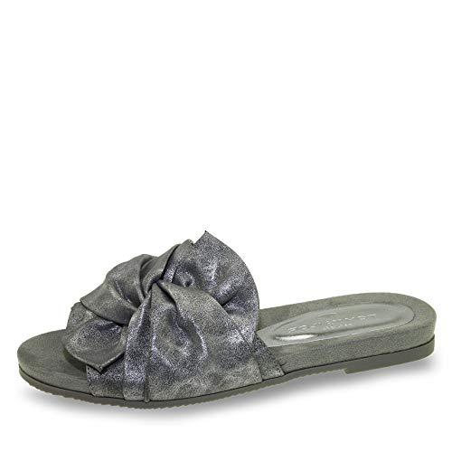 TOM TAILOR edle Damen Pantolette Sandale 4892202 rosé-Gold oder Silber Gr.37-42 Silber EUR 39