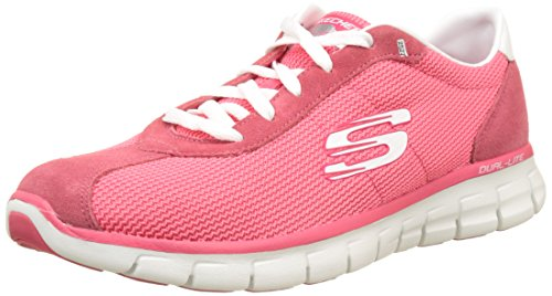 Skechers Damen Synergy-case Closed Laufschuhe, Pink, 36 EU
