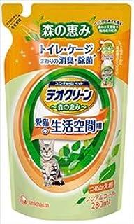 デオクリーン 森の恵み 消臭スプレー 猫用 詰替 280ml×24袋