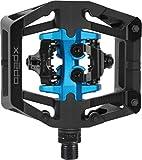 Xpedo Unisex - Pedales de Bicicleta GFX Neo para Adultos, Negro/Azul, 9/16 Pulgadas