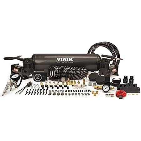 Stealth Black 380C 200 Psi VIAIR 38036 Dual Value Pack