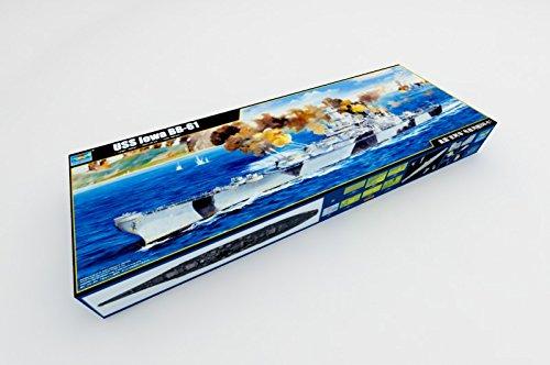 USS Iowa BB-61 Battleship Nave Plastic Kit Scala 1:200 Model 3706