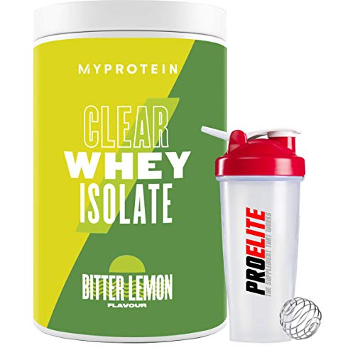 My Protein Clear Whey Isolate Protein 500g My Protein Fruity Flavours + Shaker (Bitter Lemon)
