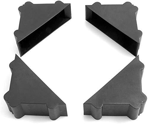 Design61 20x Schutzecken Transportschutz Ecken Stülpecken Eckenschutz für Bilderrahmen für 21-22mm breite Objekte
