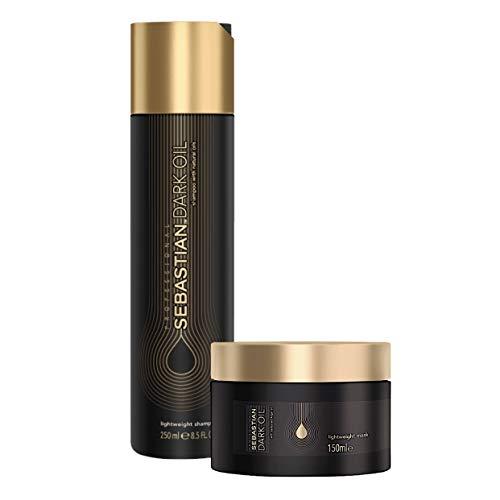 Kit Sebastian Professional Dark Oil - Shampoo 250ml + Máscara 150ml
