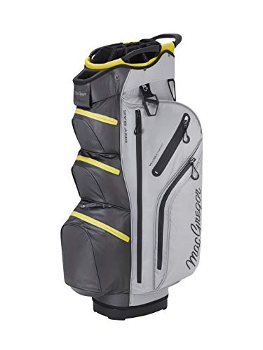 Buy Cheap MACGREGOR Unisex's MACBAG131 MACTEC Water Resistant 10 Inch Golf Club Cart Bag, Silver/Ch...