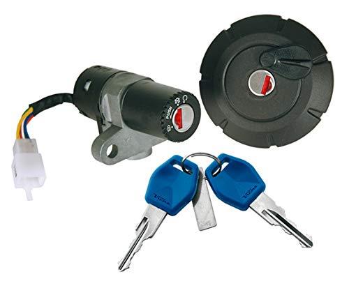 Tankdeckel abschließbar mit Zündschloss Ersatzteil für/kompatibel mit Yamaha DT/XT 125/50 X/R