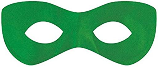 Amscan Super Hero Mask, Party Accessory, Green