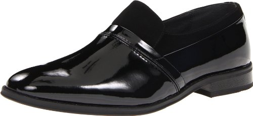 Giorgio Brutini Men's 175891 Luxore Slip On,Black,9.5 D (M) US