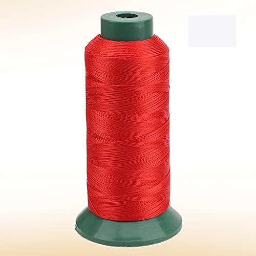 JKGHK Hilos De Coser Hilo De Poliéster para Coser Y Tejer, Adecuado para Coser Ropa, Hay 10 Colores para Elegir,Rojo