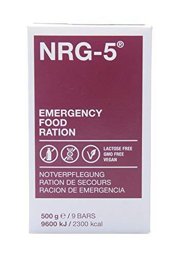Notverpflegung NRG-5, Karton mit 24 Packungen a 500 g, Notration - 2