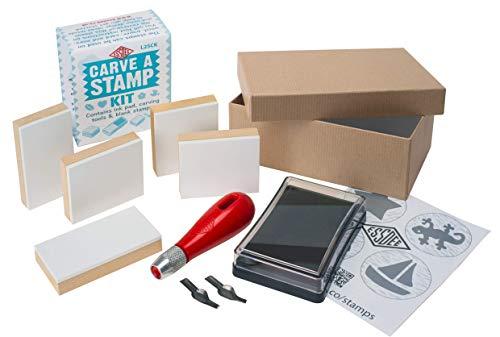 Essdee 9,5x 14,5x 505cm'Carve un' sello Kit–rojo