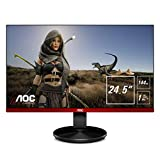 AOC Monitor Gaming G2590FX- 25' Full HD, 144 Hz, 1Ms, TN, FreeSync Premium, 1920x1080, 400 cd/m, D-SUB, HDMI 2x1.4, Displayport 1x1.2