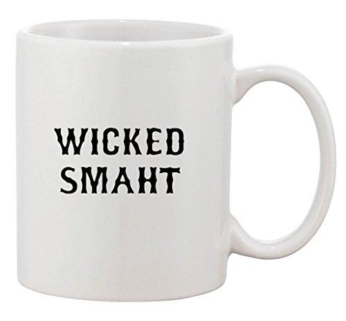 Wicked Smaht Nerd Geek Genius Cool Funny Ceramic White Coffee 11 Oz Mug