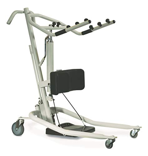 Invacare Get-U-Up Hydraulic Stand-Up Patient Lift, 350 lb. Weight Capacity, GHS350
