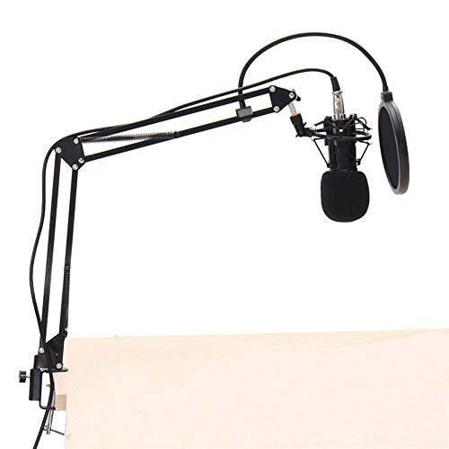 Soportes de micrófono Kit Sistema Dinámico BM800 micrófono de condensador de montaje de choque...