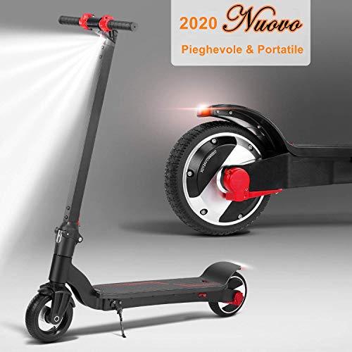 Monopattino Pieghevole Scooter Elettrico I-Bike da Città Pieghevole,...