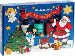 Window  Color  Set Weihnachten