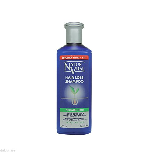 NATURVITAL Hair Loss Shampoo from Japan for Greasy Hair 300ml