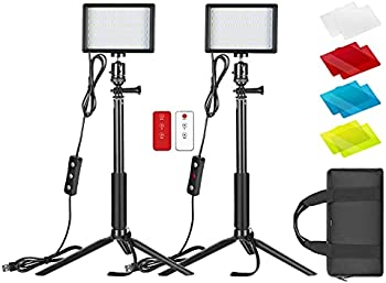 2-Pack Neewer Dimmable 5600K USB LED Video Light