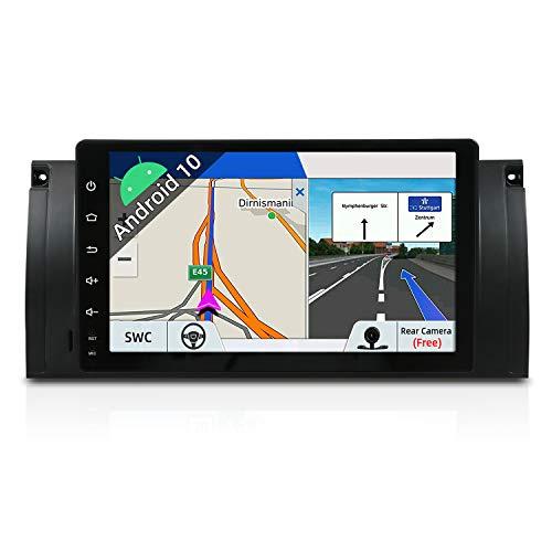 Autoradio Android 9 Car Radio GPS Navegación Compatible para 5 E39 | M5 |Canbus Cámara trasera |1 DIN 9 pulgada 2G+32G |Pantalla LCD Táctil |SD |USB|DAB+ Soporte |3G/4G |WLAN |Bluetooth| MirrorLink