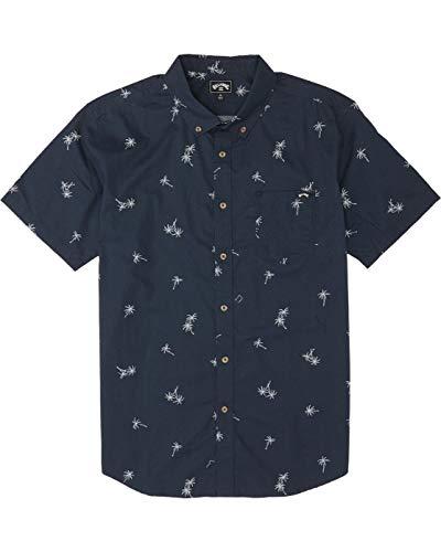 BILLABONG™ - Camisa de Manga Corta - Hombre - L - Azul