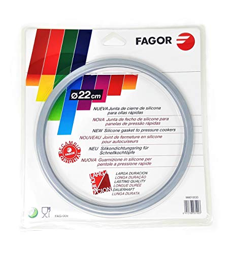 SERVI-HOGAR TARRACO® Dichtung für Schnellkochtopf Fagor 22 cm FAG009