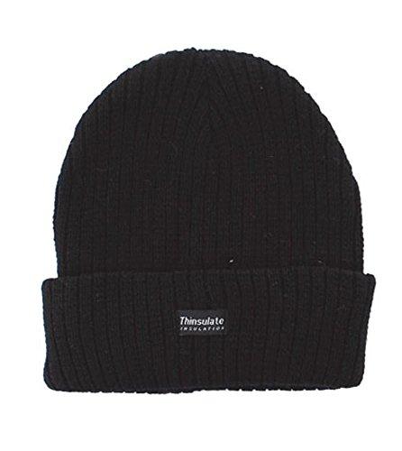 Thinsulate KPPY-KAZO Bonnet à Isolation Thermique pour Homme Noir Taille M