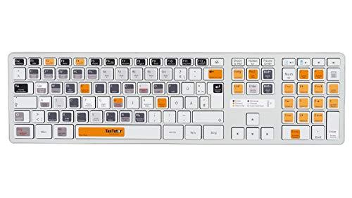 TasTutor FL Studio Tastatur Aufkleber auf deutsch für Windows/MAC