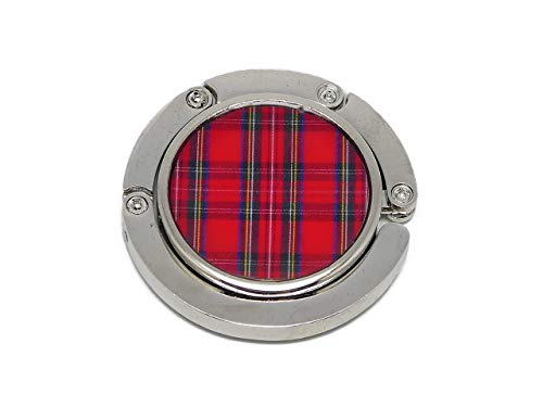 Bolso de resina cuadrados de tela escocesa rojo tartán Outlander regalos personalizados regalo de navidad amigos cumpleaños ceremonia de boda invitados boda señora día de la madre parejas