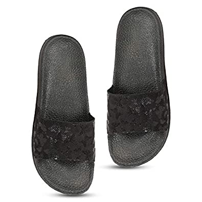 Colo Women's Flip-Flop,Slide And Slipper for women's And Girl's GS 2 Peach