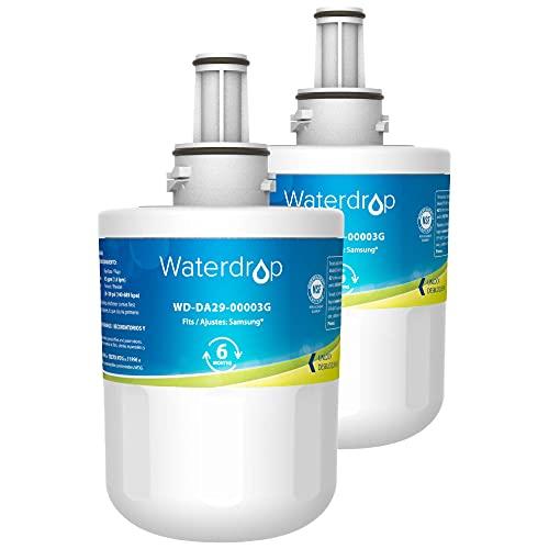 Waterdrop DA29-00003G Refrigerator Water Filter, Replacement for...