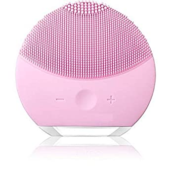 Facial Cleansing Brush, Silicone Scrubber, Face Vibrating Massager
