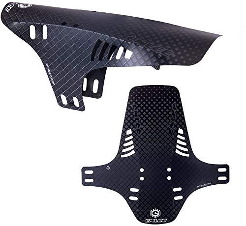 RICH BIT Parafango Anteriore o Posteriore in polietilene Leggero per MTB/BMX/Bici da Strada (G)