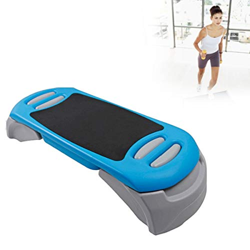 Grist CC Rutschfestes Aerobic Board, Stepper Cardio Mit Höhenverstellbares Für Heim-Gym-Workout-Routinen-Schulung