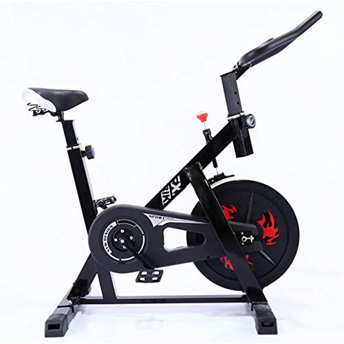 Huishoudelijke hometrainer, Indoor Spinning Bike, Silent Gift van het Huis, hometrainer, Vaste Fast Bike Exercise Gewichtsverlies Bicycle Fitness Equipment,Red