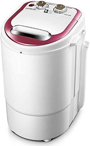 QUZHCP Lavadora portátil, Solo Barril Mini Lavadora, Compacto, Fácil De Operar, Ahorro De Energía Y Protección del Medio Ambiente, Desmontable Deshidratación Cesta